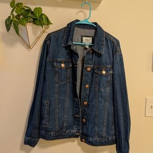 Medium Wash Blue Jean Jacket